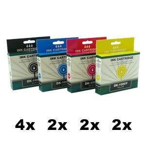 DK-970, DK-1000,  10er Sparset, kompatibel zu LC-970, LC-1000