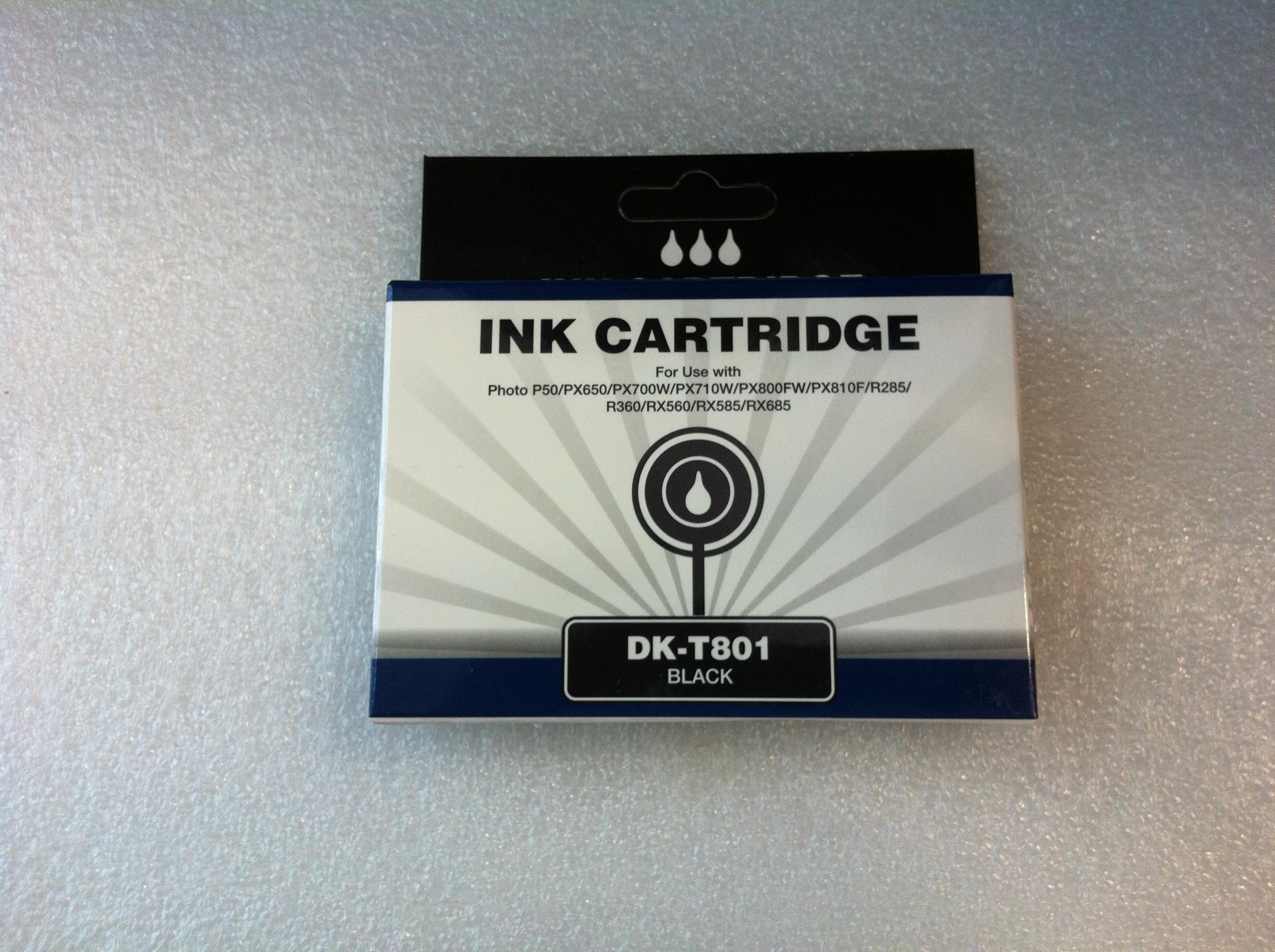 DK-T801 (Black), kompatibel zu T0801 (Black)