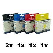 DK-T611 bis DK-T614, 5er Sparset, kompatibelzu T0611 bis T0614