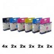 DK-T801 bis DK-T806, 14er Sparset, kompatibel zu T0801 bis T0806