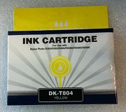 DK-T804 (Yellow), kompatibel zu T0804(Yellow)